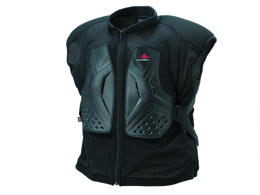KIJIMA(キジマ) 4R(フォーアール) バイク用 胸部プロテクター ベスト Relieve ハード LLサイズ ブラック FR-133125