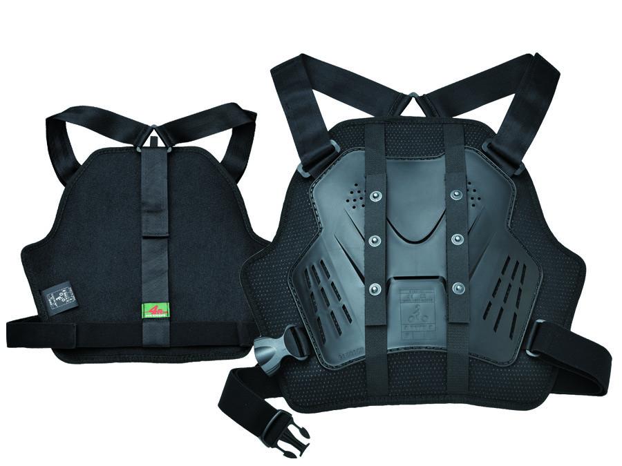 KIJIMA(キジマ) 4R(フォーアール) バイク用 胸部プロテクター Relieve フリーサイズ ブラック FR-173301
