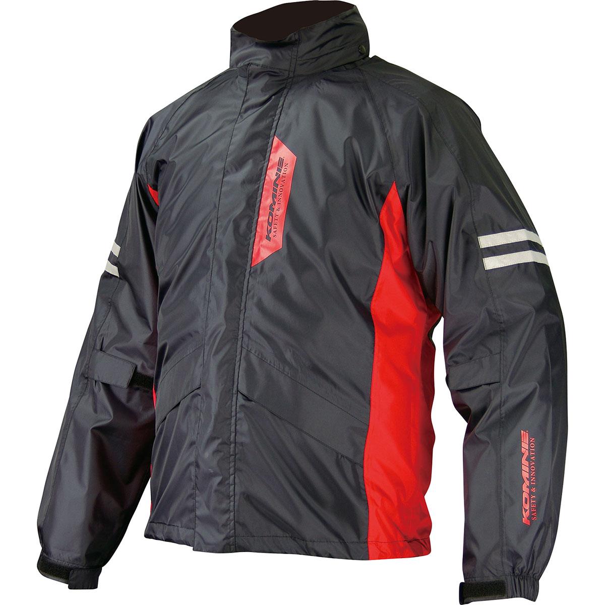 コミネ (Komine) バイク用 レインギア Rain gear RK-539 ブレスターレインウェア フィアート ブラック 黒 3XLBサイズ 03-539/BK/3XLB