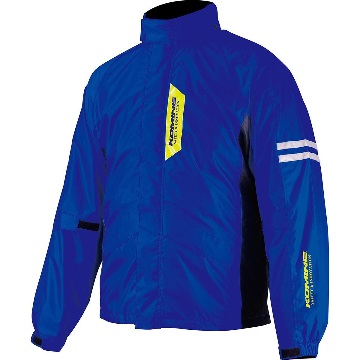 コミネ Komine バイク用 レインギア 賜物 安い 激安 プチプラ 高品質 Rain gear RK-539 ブレスターレインウェア L Lサイズ 青 D.BL 03-539 ブルー フィアート ディープ
