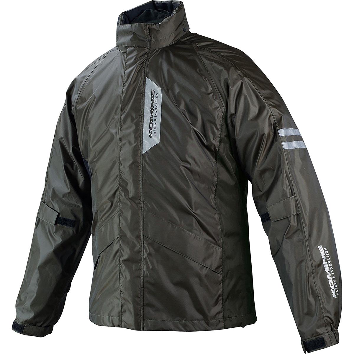 コミネ (Komine) バイク用 レインギア Rain gear RK-539 ブレスターレインウェア フィアート オリーブ Lサイズ 03-539/OL/L