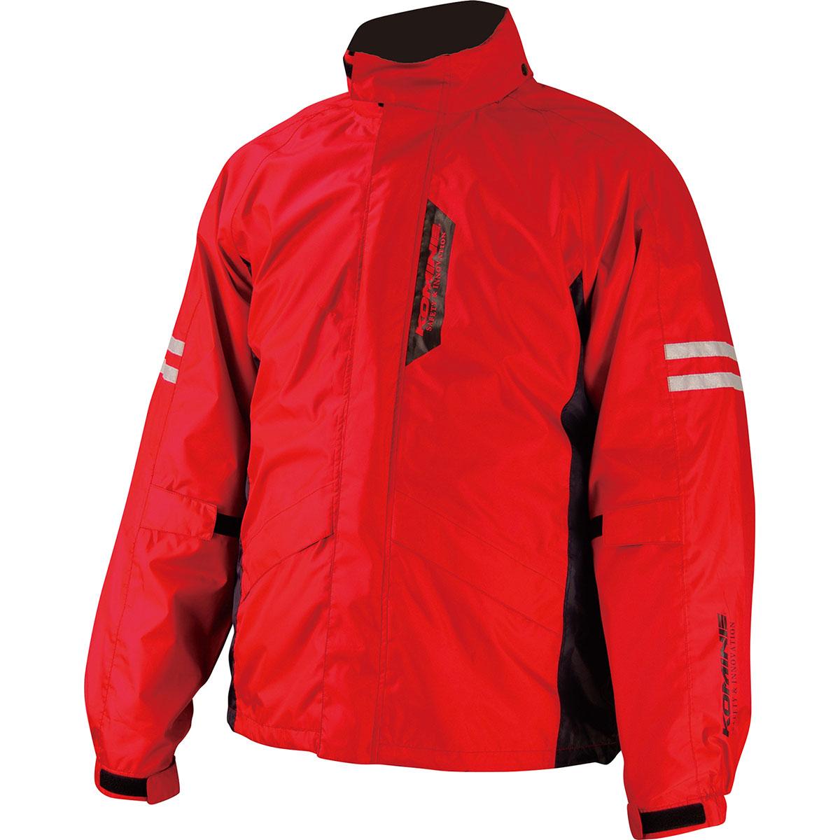 限定品 コミネ Komine バイク用 レインギア Rain gear RK-539 ブレスターレインウェア 03-539 レッド 赤 フィアート RD お見舞い 4XLBサイズ 4XLB