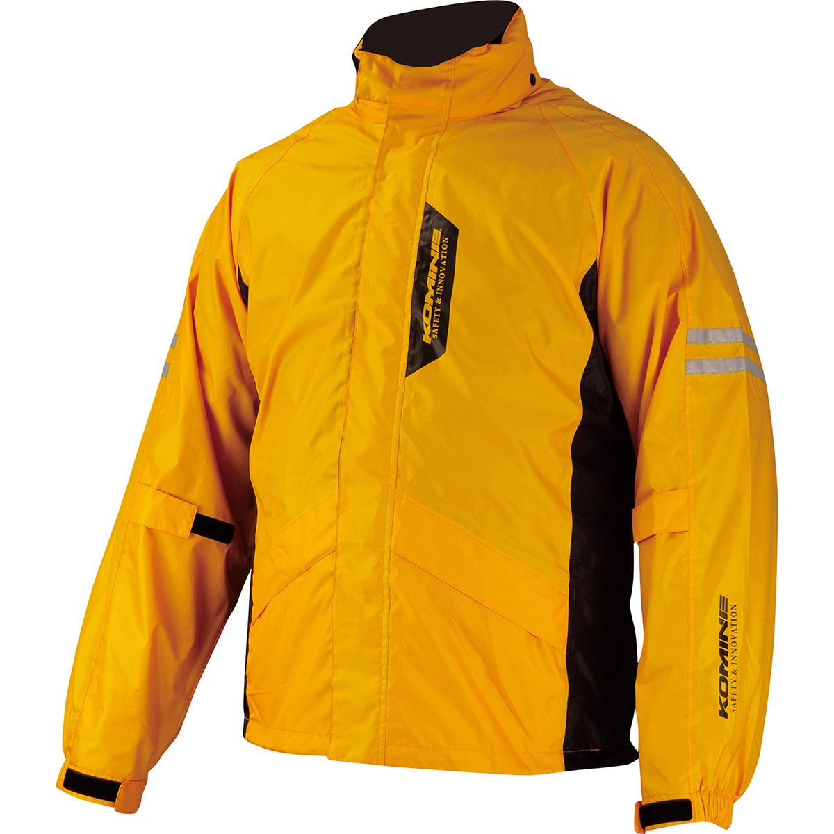 コミネ Komine バイク用 レインギア Rain gear RK-539 訳ありセール 格安 ブレスターレインウェア 黄 イエロー 03-539 フィアート YL 2XL 爆売りセール開催中 2XLサイズ