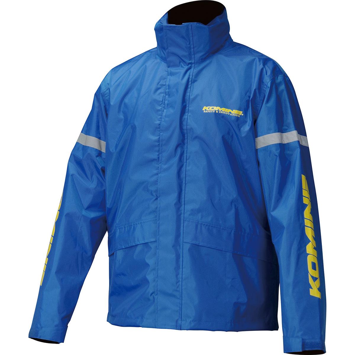 保障 コミネ Komine バイク用 レインギア Rain gear 国内即発送 RK-543 ブルー 03-543 青 3XLB BL 3XLBサイズ STDレインウェア