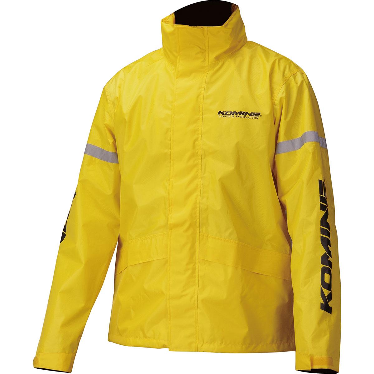 18%OFF コミネ Komine バイク用 祝開店大放出セール開催中 レインギア Rain gear RK-543 STDレインウェア XLサイズ 03-543 黄 イエロー YL XL