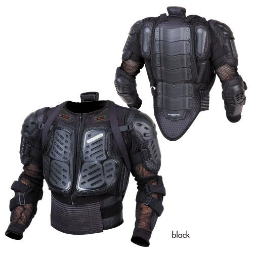 コミネ (Komine) バイク用 プロテクター Protector SK-674 セーフティジャケットα ブラック 黒 Mサイズ 04-674/BK/M