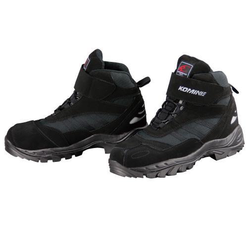 コミネ Komine 商店 バイク用 フットウェア シューズ ブーツ footwear Shoes Boots ブラック 26.0 05-061 BK 格安 価格でご提供いたします 26.0cm ライディングシューズ FTC BK-061 黒