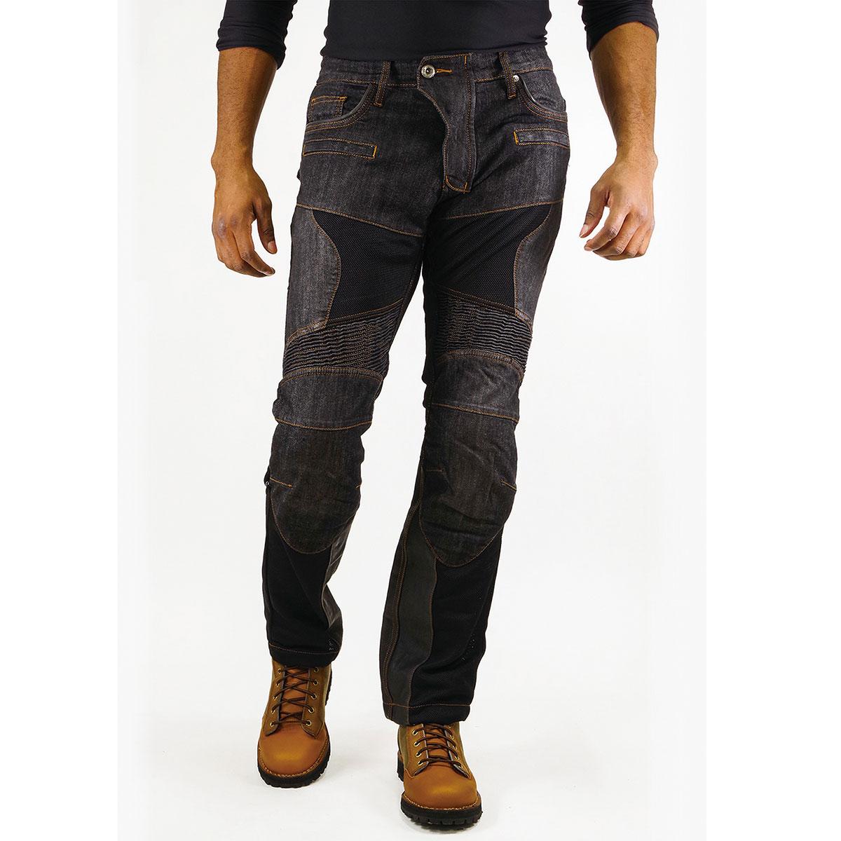 <title>コミネ Komine バイク用 パンツ Pants WJ-741S スーパーフィットプロテクトレザーメッシュジーンズ ディープ インディゴ 直輸入品激安 青 WSサイズ 07-741 DIN WS 26</title>