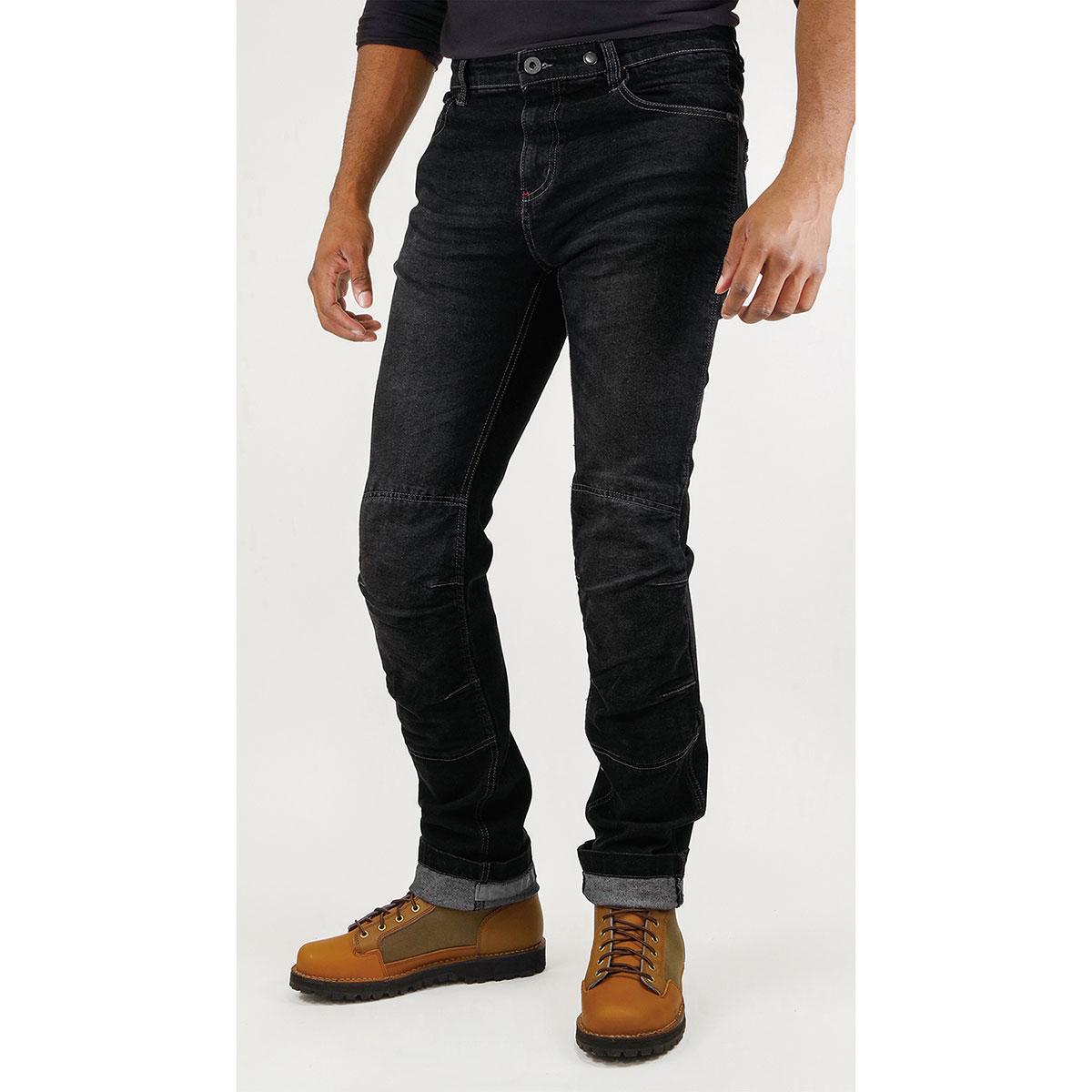 コミネ (Komine) バイク用 パンツ Pants WJ-742R KV ジーンズ ブラック 黒 5XLBサイズ 07-742/BK/5XLB46