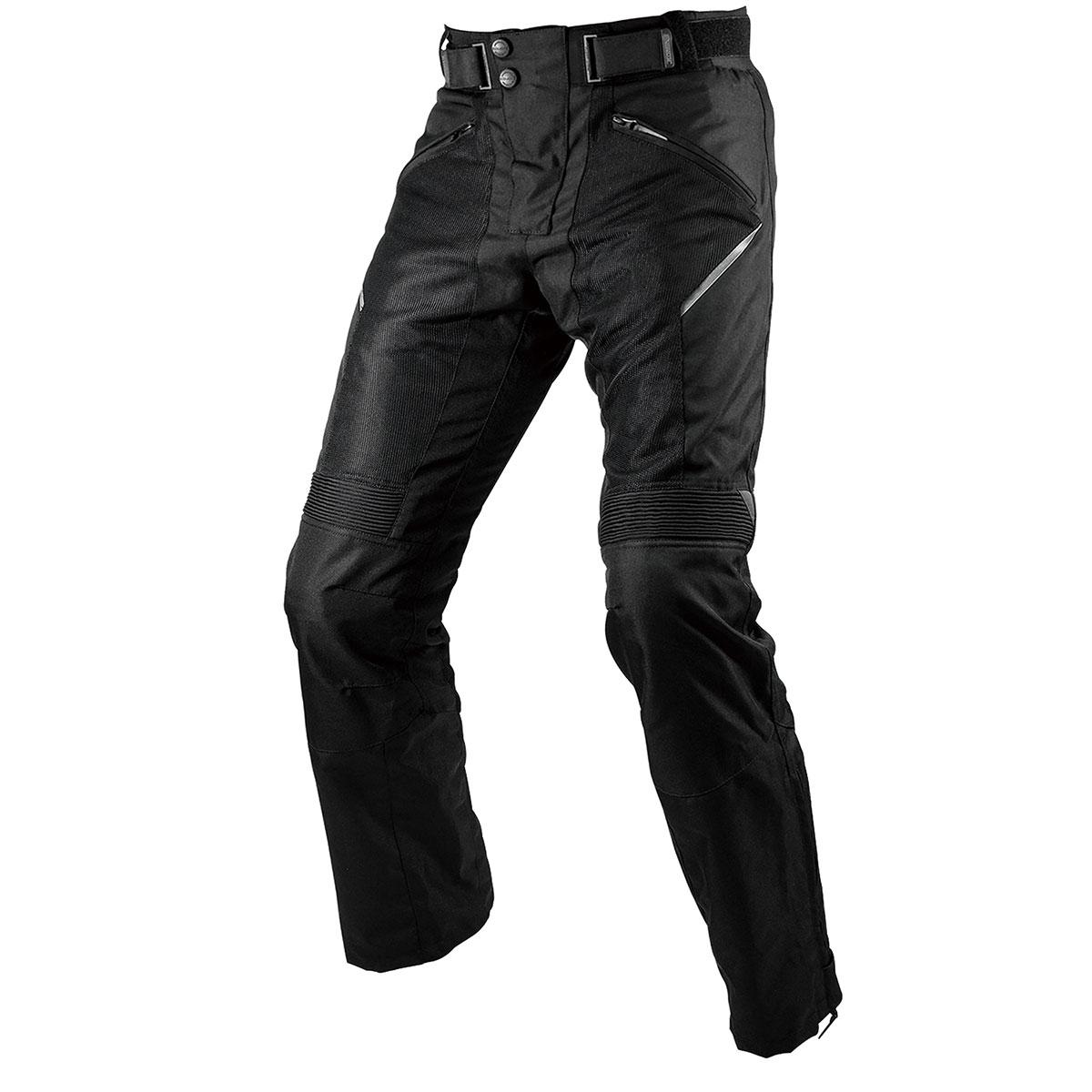コミネ (Komine) バイク用 パンツ Pants PK-743 プロテクトライディングメッシュパンツ ブラック 黒 Lサイズ 07-743/BK/L
