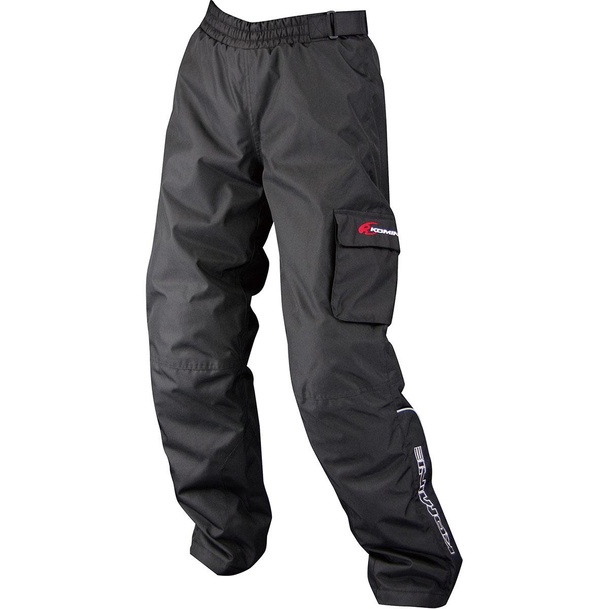 コミネ (Komine) バイク用 パンツ Pants PK-908 ウインターオーバーパンツ ブラック 黒 Lサイズ 07-908/BK/L