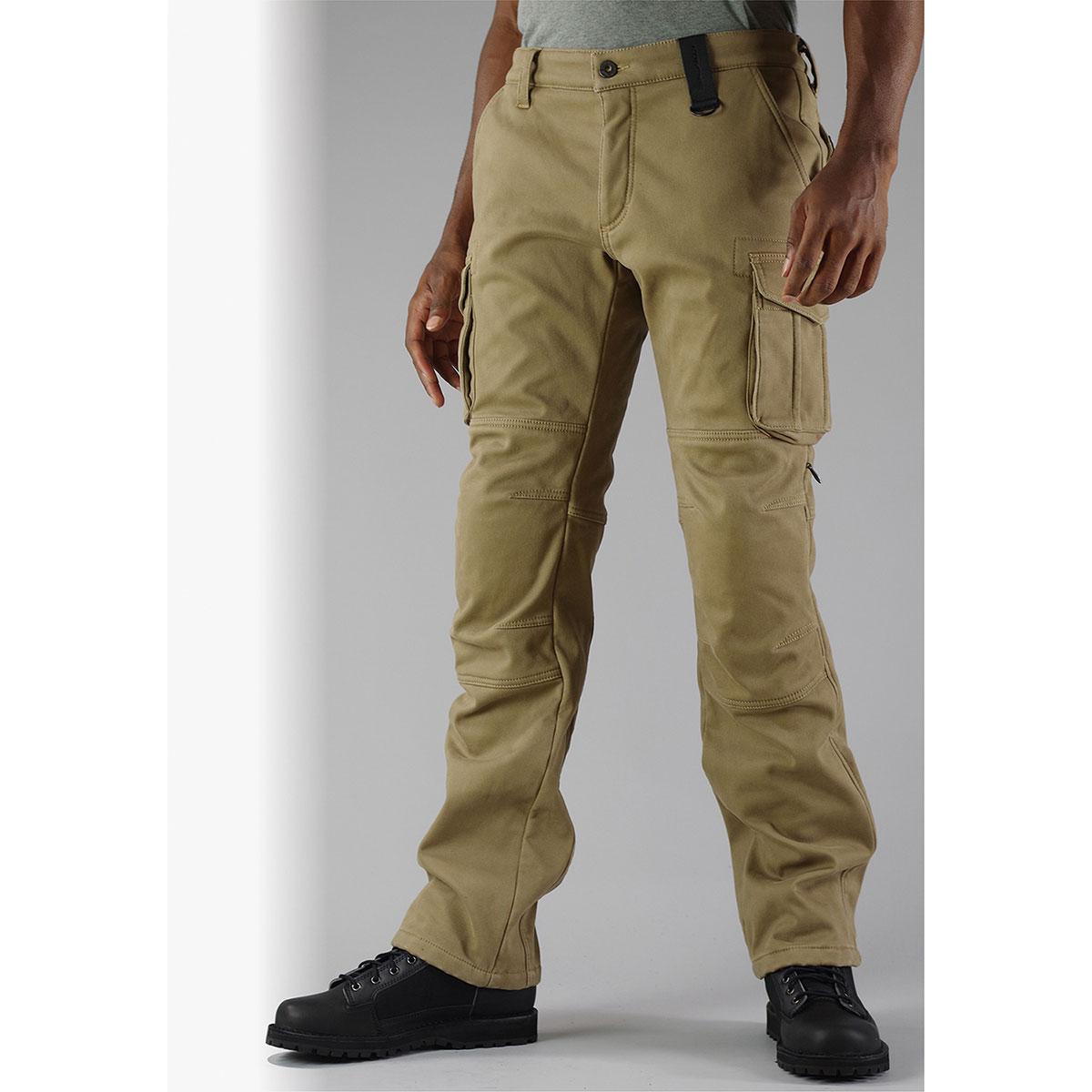 コミネ (Komine) バイク用 パンツ Pants PK-919 ウインドプルーフウォームカーゴパンツ ベージュ 2XLサイズ 07-919/BE/2XL