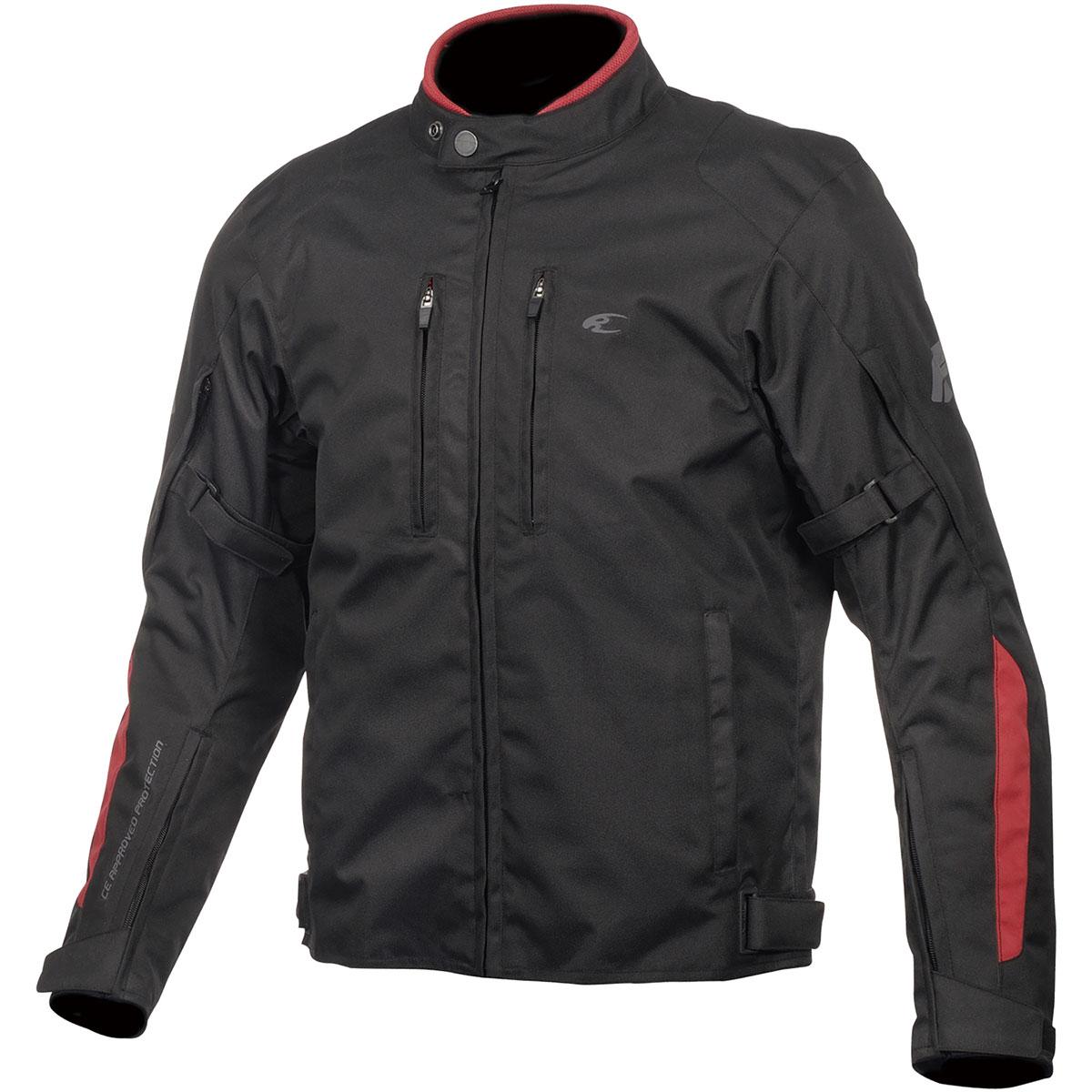 コミネ (Komine) バイク用 ジャケット Jacket JK-603 プロテクトウィンタージャケット ブラック/レッド Mサイズ 07-603/BK/RD/M - tempolibroeducation.it