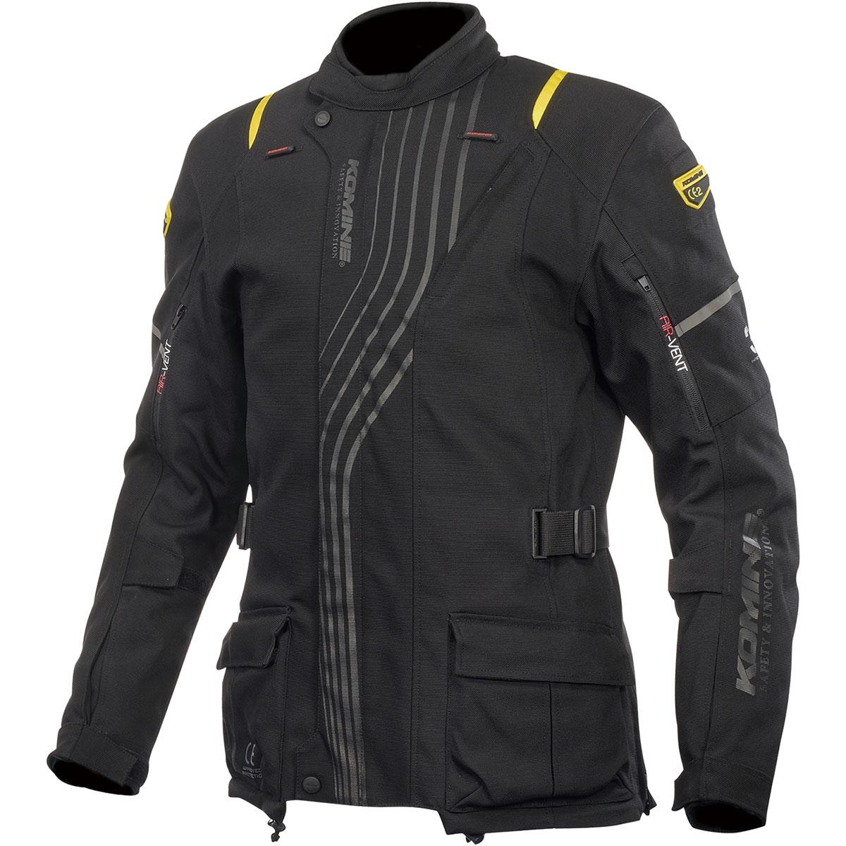 コミネ (Komine) バイク用 ジャケット Jacket JK-605 スプリームプロテクトウインタージャケット ブラック Lサイズ 07-605/BK/L