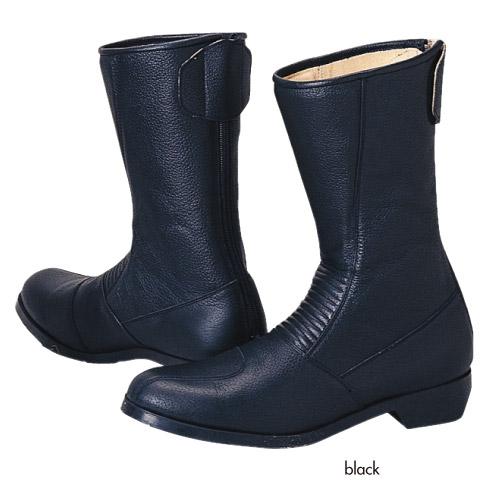 コミネ (Komine) バイク用 フットウェア シューズ ブーツ footwear Shoes Boots スパジオ 202ブーツ ブラック 黒 23.0cm 05-107/BK/23.0