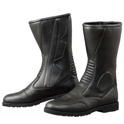 スーパーセール限定 クーポン発行 コミネ Komine バイク用 新作続 フットウェア シューズ ブーツ footwear 26.0cm Shoes K520サイドジッパーブーツ 新発売 26 ブラック BK Boots 黒 05-112