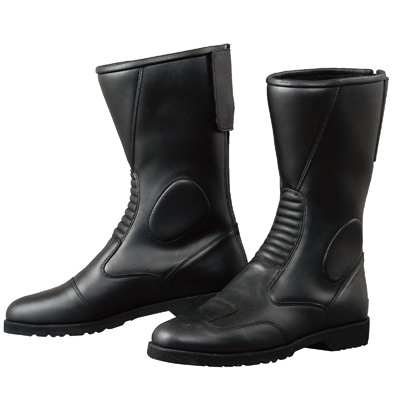 コミネ (Komine) バイク用 フットウェア シューズ ブーツ footwear Shoes Boots K202 バックジッパーブーツ ブラック 黒 29.0cm 05-114/BK/29