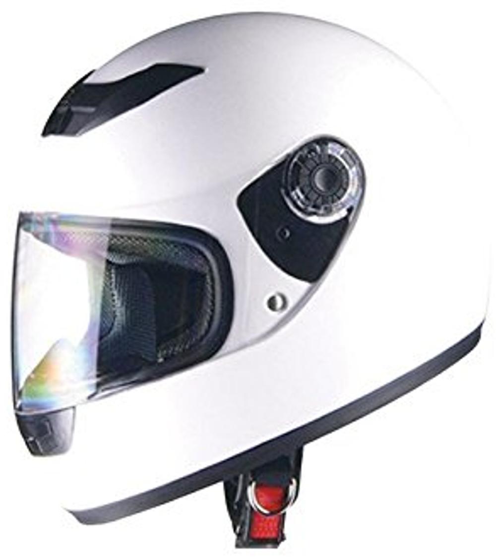 リード工業 フルフェイスヘルメット CROSS CR-715 ホワイト フリーサイズ (57-60cm未満)