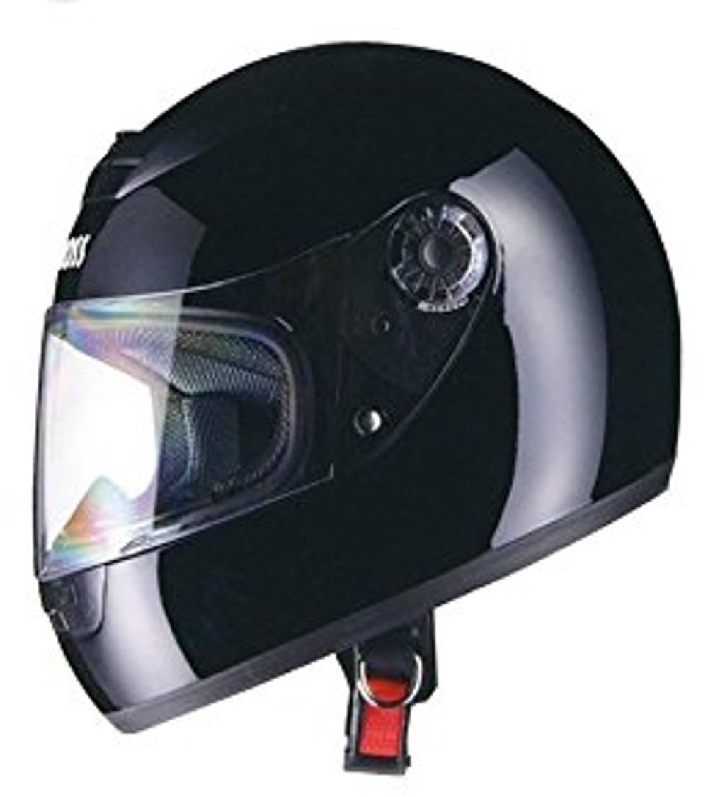 リード工業 フルフェイスヘルメット CROSS CR-715 ブラック フリーサイズ (57-60cm未満)