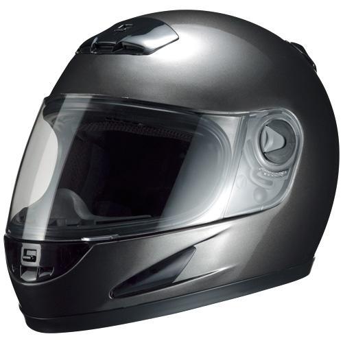 マルシン(Marushin) バイクヘルメット フルフェイス M-930 ガンメタリック フリーサイズ (57~60cm)