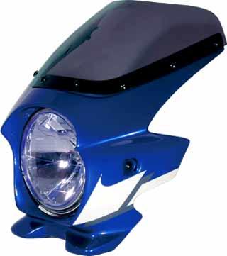 N PROJECT (Nプロジェクト) BLUSTER2 (ブラスター2) YAMAHA (ヤマハ) XJR1300 '05 ディープパープリッシュブルーメタリックC (ストロボ) エアロスクリーン 90013