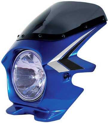 N PROJECT (Nプロジェクト) BLUSTER2 (ブラスター2) HONDA (ホンダ) CB1300SF キャンディフェニックスブルー (ストライプ) エアロスクリーン 93009