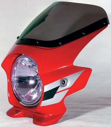 N PROJECT (Nプロジェクト) BLUSTER2 (ブラスター2) HONDA (ホンダ) CB400SF H-V '05-'06 キャンディブレイジングレッド (ウイングライン) エアロスクリーン 93130