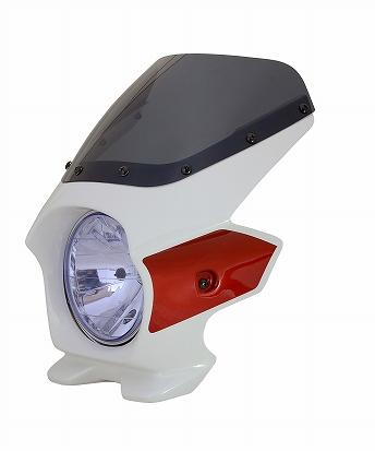 N PROJECT (Nプロジェクト) BLUSTER2 (ブラスター2) HONDA (ホンダ) CB1300SF '14 パールサンビームホワイト / レッド エアロスクリーン 93501