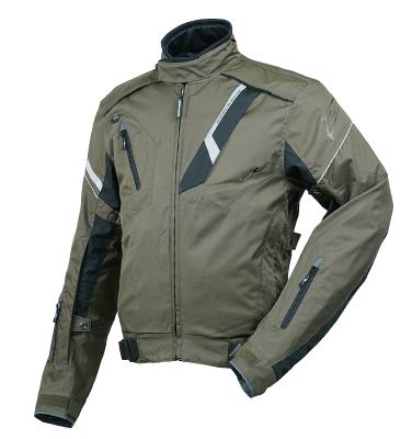 ROUGH&ROAD (ラフ&ロード) バイク用 レギュラージャケット ウォーターシールドオールウェザージャケット オリーブ XLサイズ RR7213OV5
