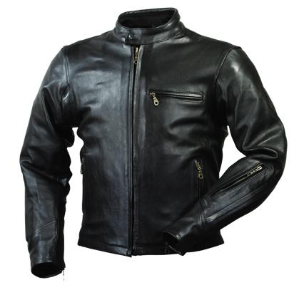 ROUGH&ROAD (ラフ&ロード) バイク用 レザージャケット ベンテッドライディングレザージャケット ブラック LLサイズ RA5031BK4