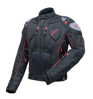 ROUGH&ROAD (ラフ&ロード) バイク用 メッシュジャケット ハードプロテクションメッシュジャケット ブラック Lサイズ RR7335BK3