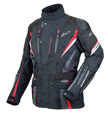 ROUGH&ROAD (ラフ&ロード) バイク用 ウィンタージャケット ウォーターシールドハードウインタージャケットFP レッド LLサイズ RR7656RD4