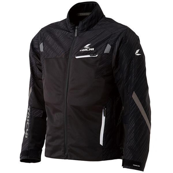 RSタイチ (RS TAICHI) バイク用 ジャケット トルク メッシュジャケット BLACK/WHITE ブラック/ホワイト XLサイズ RSJ331BK03XL