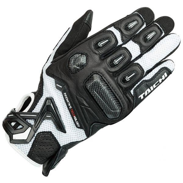 RSタイチ (RS TAICHI) バイク用 グローブ ラプター メッシュ グローブ BLACK/WHITE ブラック/ホワイト Lサイズ RST442BK03L