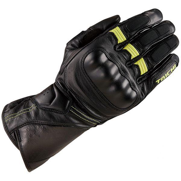 RSタイチ (RS TAICHI) バイク用 グローブ コルサ レザーグローブ BLACK/NEON ブラック/ネオン XXLサイズ RST453BK02XXL