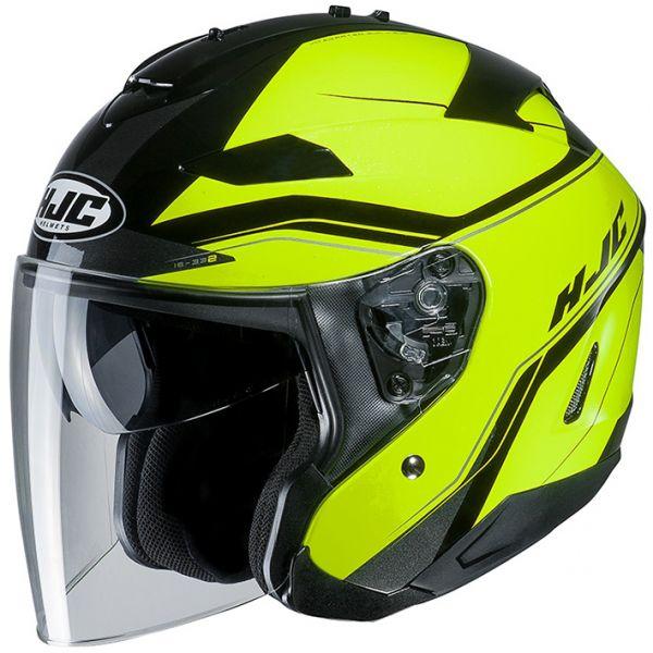 RSタイチ (RS TAICHI) バイク用 ヘルメット ジェット HJC IS-33コルバ YELLOW(MC4H) XL HJH159YE01XL