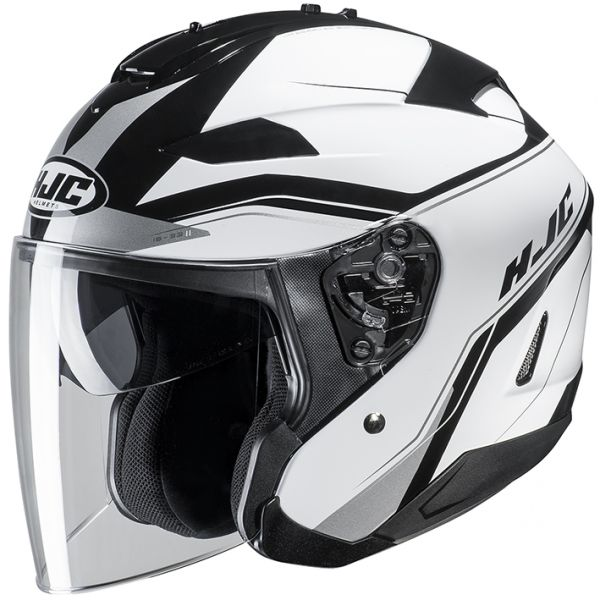 RSタイチ (RS TAICHI) バイク用 ヘルメット ジェット HJC IS-33コルバ WHITE(MC10) M HJH159WH01M