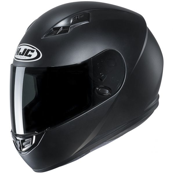 RSタイチ (RS TAICHI) バイク用 ヘルメット フルフェイス HJC CS-15 ソリッド SEMI FLAT BLACK Mサイズ HJH113BK02M