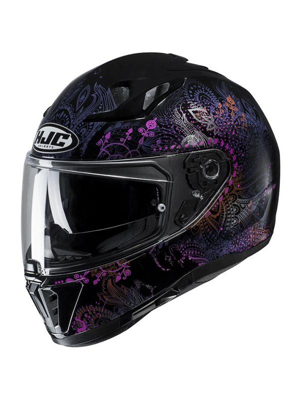 RSタイチ (RS TAICHI) バイク用 ヘルメット フルフェイス HJC i70 ヴァロク VAROK(MC8) XL HJH170BK01XL