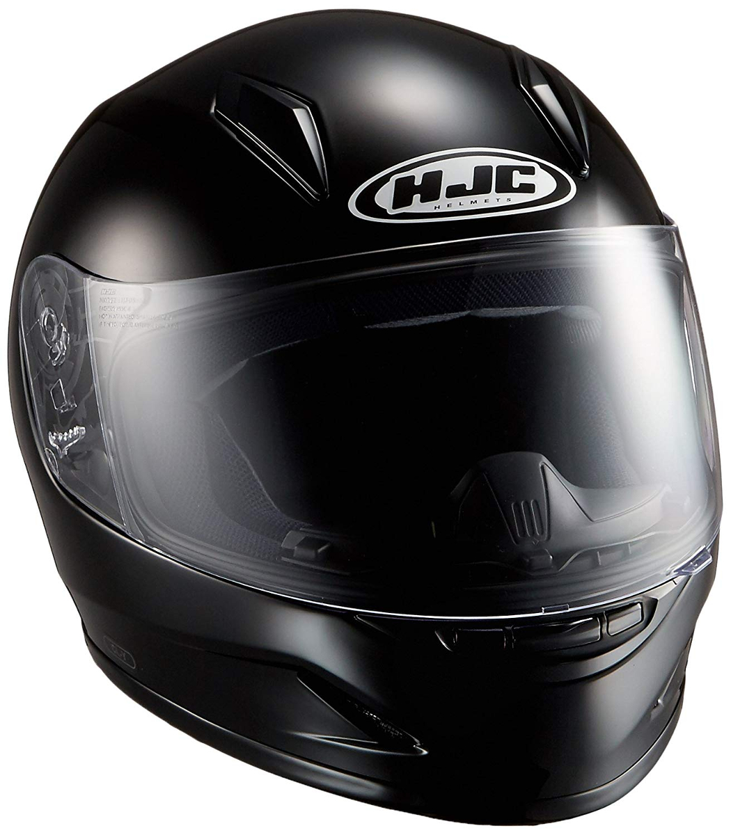 RSタイチ (RS TAICHI) バイク用 ヘルメット フルフェイス HJC CL-Y ソリッド BLACK L HJH0579900L