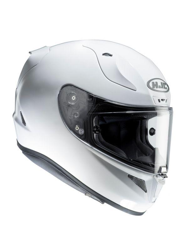 RSタイチ (RS TAICHI) バイク用 ヘルメット フルフェイス HJC RPHA 11 ソリッド PEARL WHITE Lサイズ HJH103WH01L