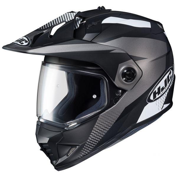 RSタイチ (RS TAICHI) バイク用 ヘルメット オフロード HJC DS-X1 エーウィング BLACK(MC5SF) M HJH134BK01M
