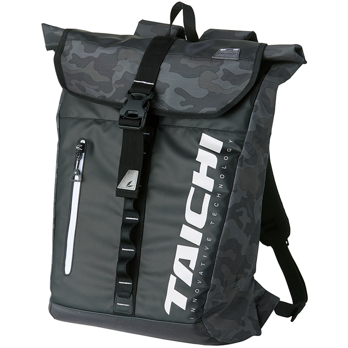 RSタイチ (RS TAICHI) バイク用 バッグ WP バックパック カモフラージュ 25L RSB278GR01