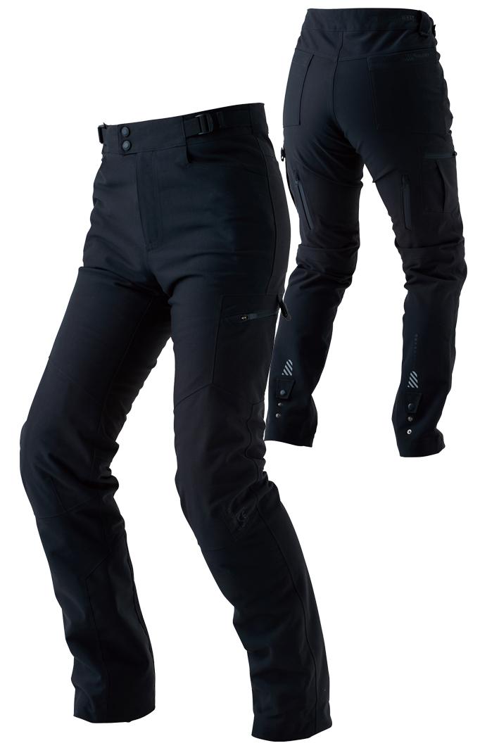 RSタイチ (RS TAICHI) バイク用 パンツ ドライマスター カーゴパンツ ブラック XXLサイズ RSY257BK01XXL