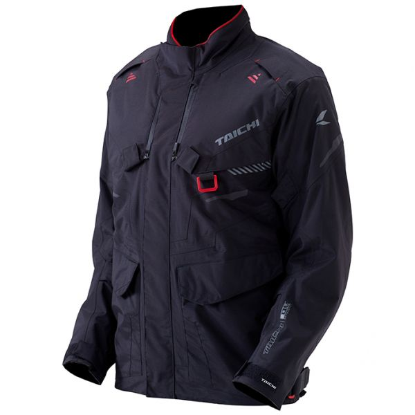 RSタイチ RS TAICHI バイク用 ジャケット DRYMASTER セール特別価格 オールシーズンジャケット グレイ エクスプローラー 3XLサイズ RSJ721BK013XL 永遠の定番モデル ブラック