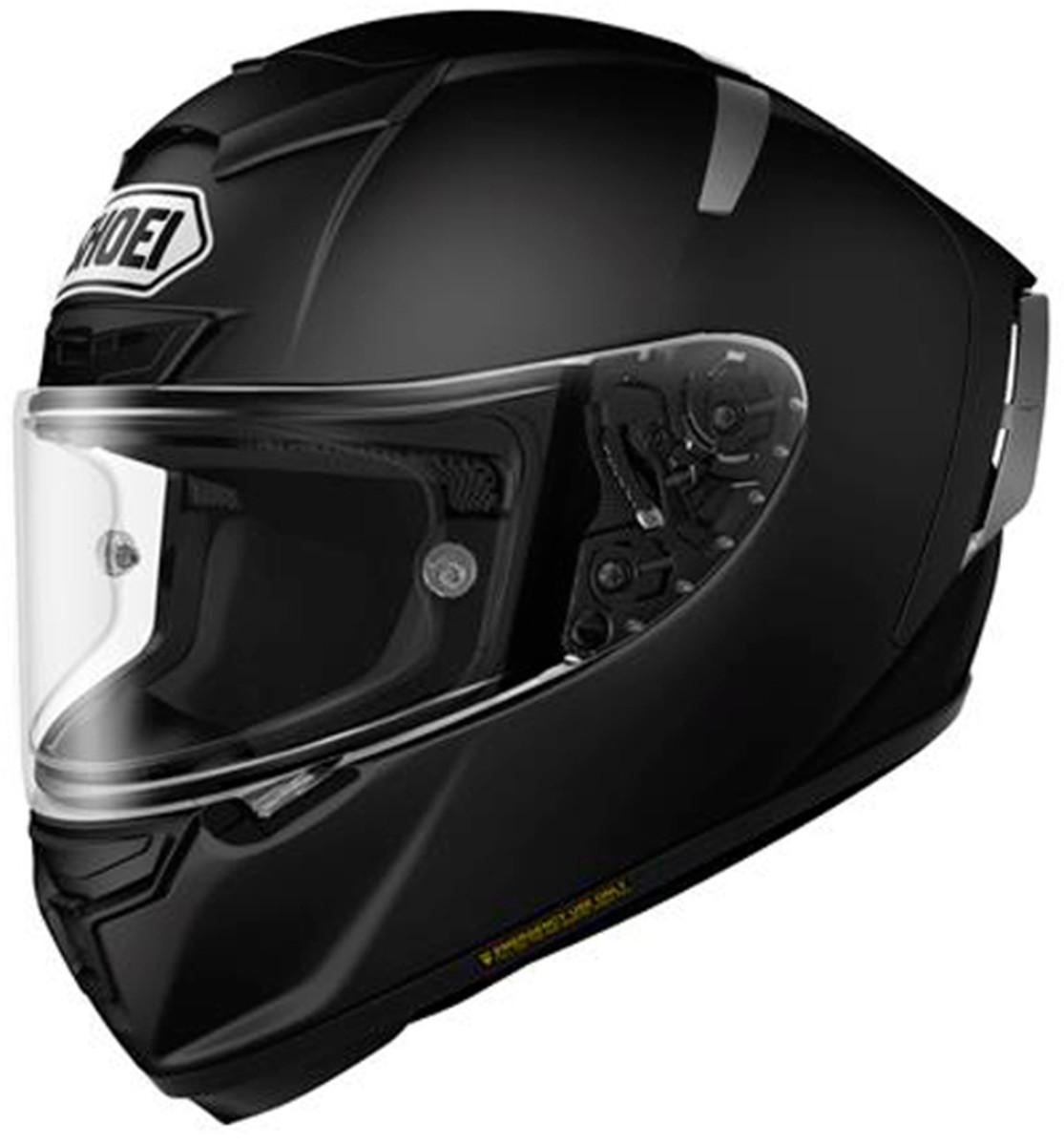 【動画あり】 SHOEI フルフェイスヘルメット X-Fourteen マットブラック Sサイズ