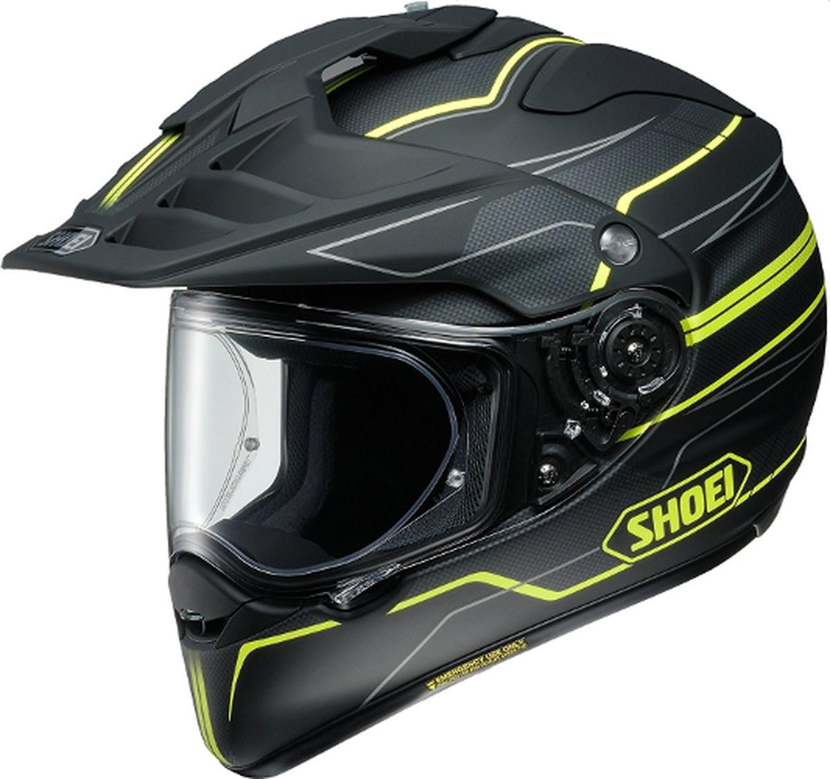 【動画あり】 SHOEI オフロードヘルメット HORNET ADV NAVIGATE (ナビケート) TC-3 XLサイズ