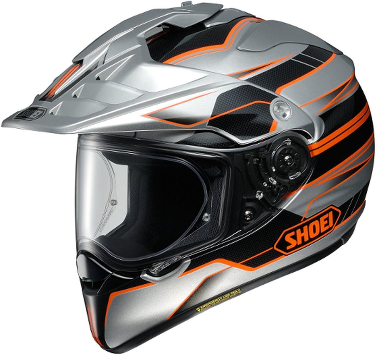 【動画あり】 SHOEI オフロードヘルメット HORNET ADV NAVIGATE (ナビケート) TC-8 Sサイズ