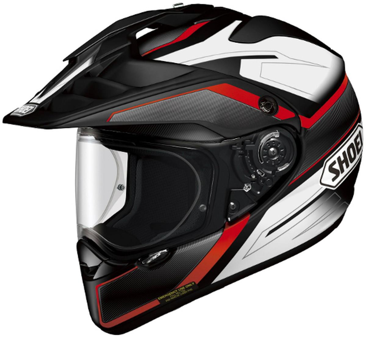 SHOEI オフロードヘルメット HORNET ADV SEEKER TC-1 RD/BK XXLサイズ