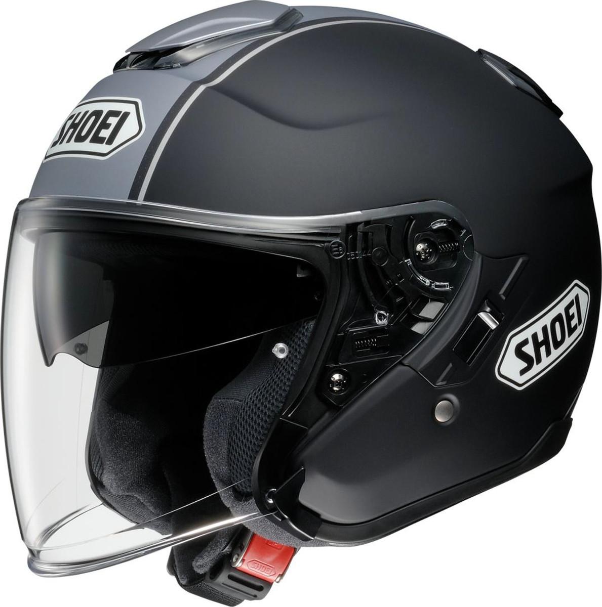SHOEI ジェットヘルメット J-CRUISE CORSO TC-10 BK/SL Lサイズ